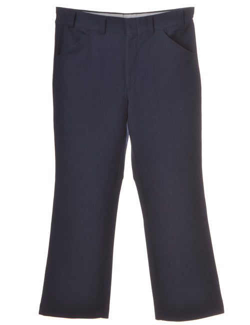 Navy Smart Trousers