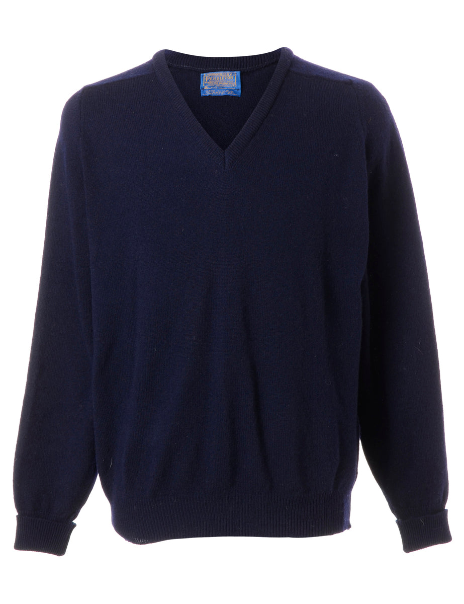 Beyond Retro Label Pendleton Lambswool Jumper