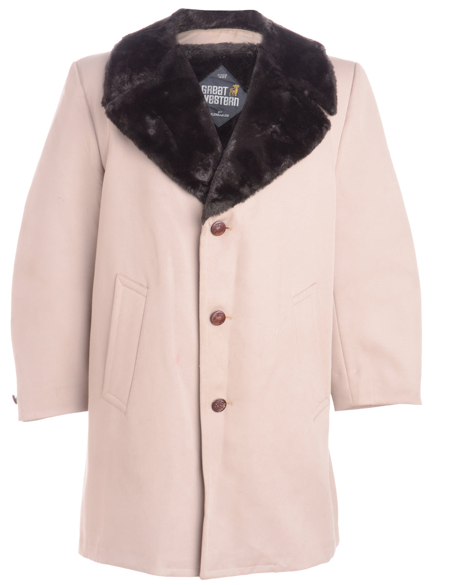 Beyond Retro Label Single Breasted Coat
