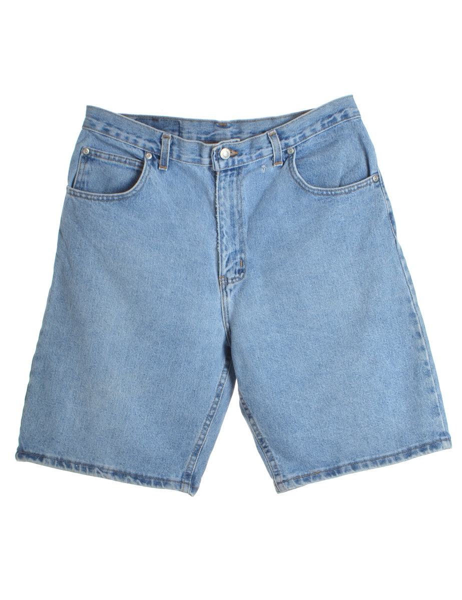 Beyond Retro Label Straight Leg Denim Shorts