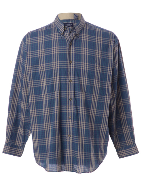 Van Heusen Plaid Shirt