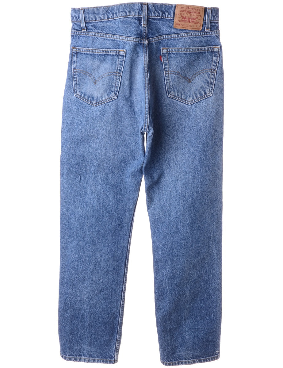 Beyond Retro Label 505's Distressed Fit Levi's Jeans