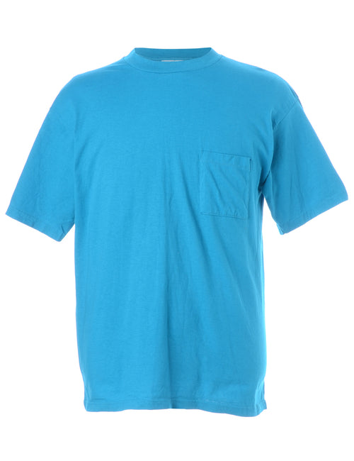 Blue Plain T-shirt