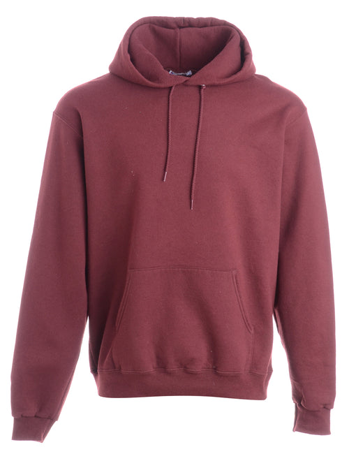 Brown Hooded Sweatshirt