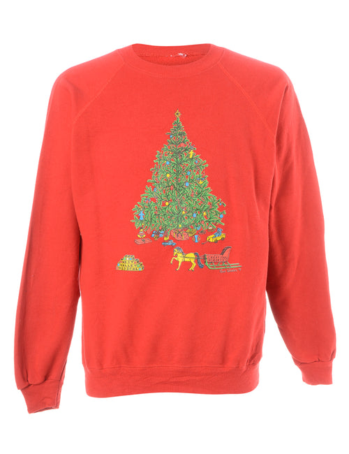 Christmas Tree Design Sweatshirt