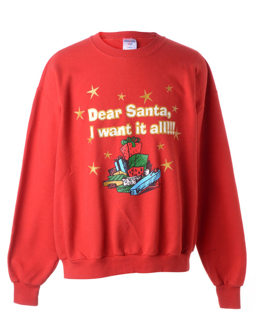 Festive Gifts Christmas Sweatshirt