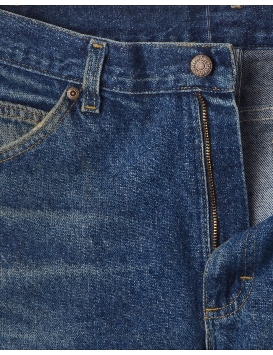 Beyond Retro Label Indigo Lee Jeans
