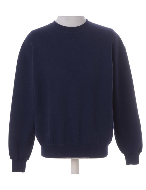 Navy Plain Sweatshirt