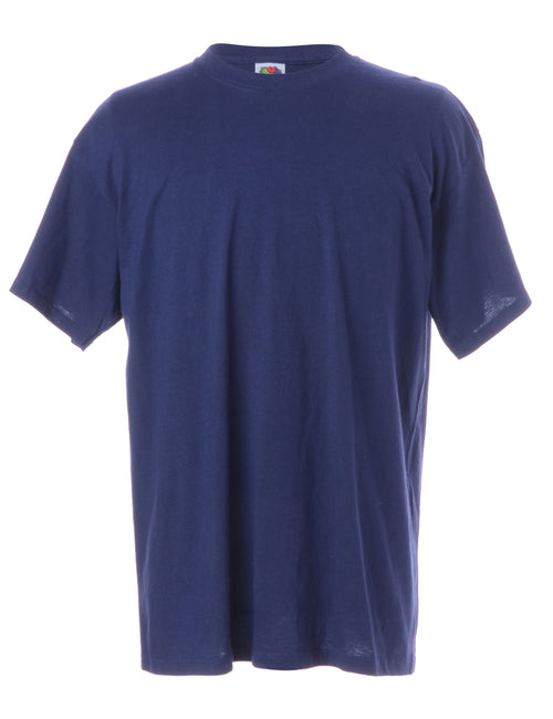 Navy Plain T-shirt