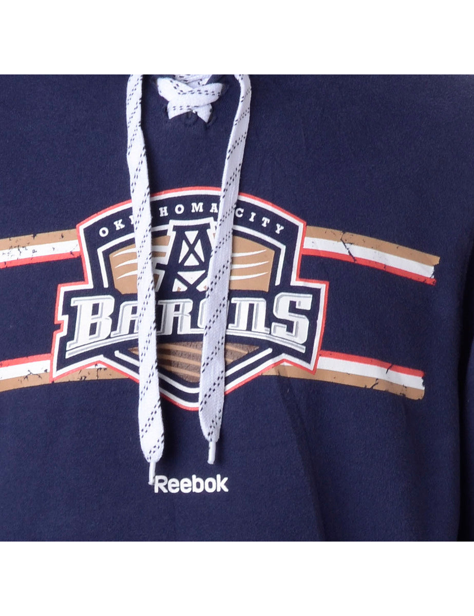 Beyond Retro Label Reebok Barons Sports Sweatshirt