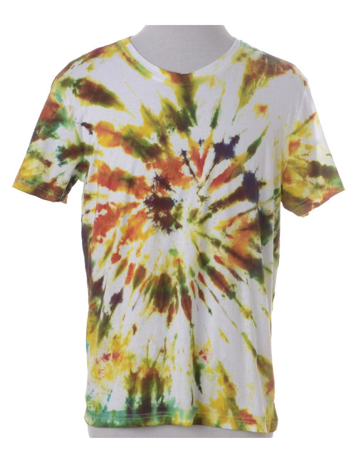 Tie Dyed Printed T-shirt