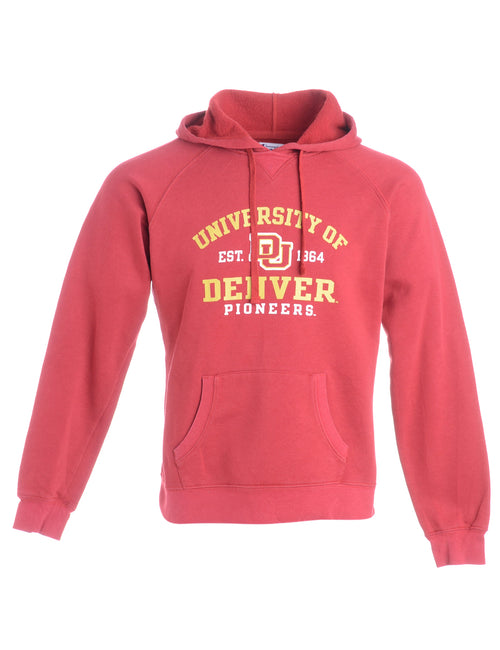 University Of Denver Champion Hooded Sports Sweatshirt