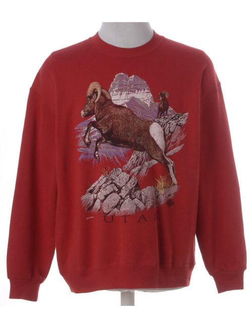 Utah Animal Sweatshirt