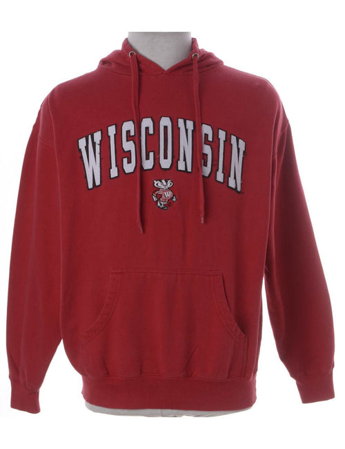 Wisconsin Hooded Sports Sweatshirt