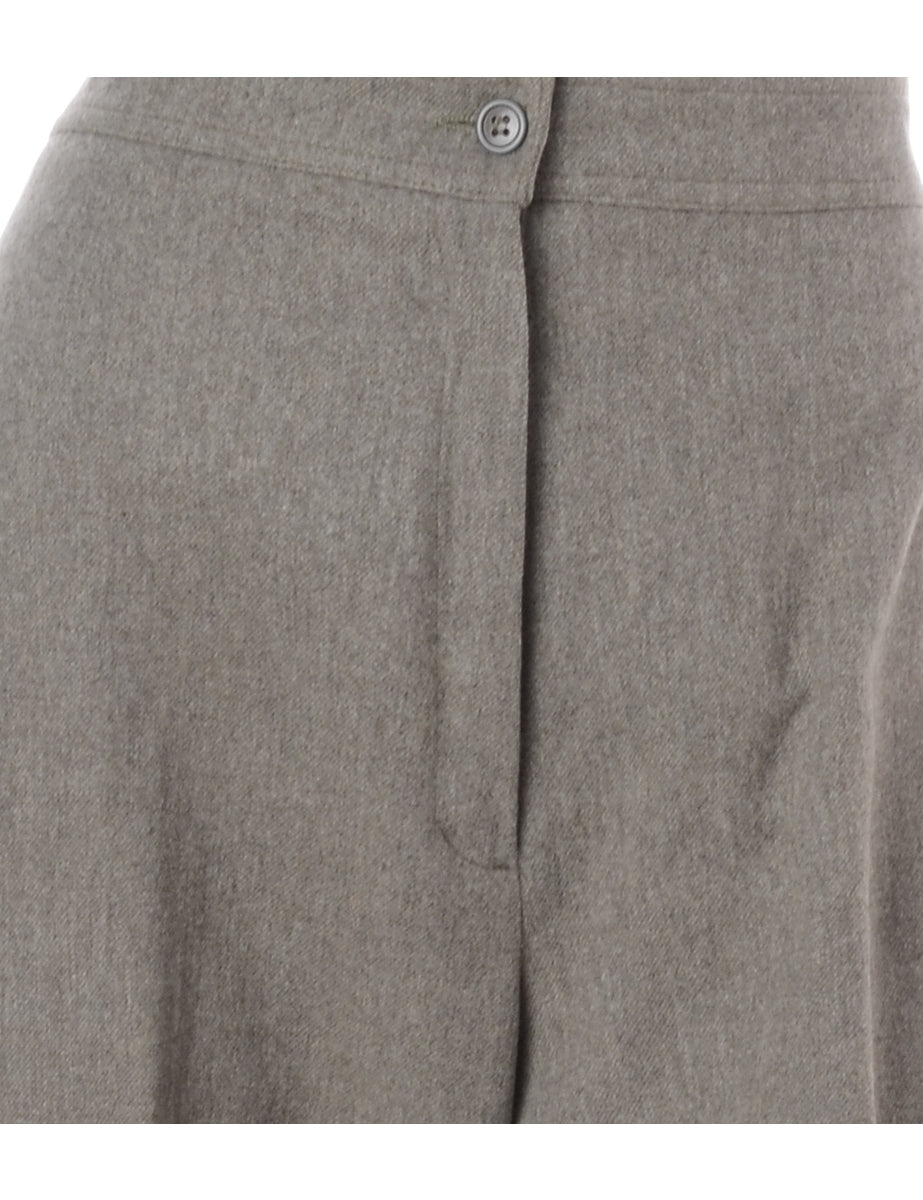 Beyond Retro Label 100% Wool Smart Trousers
