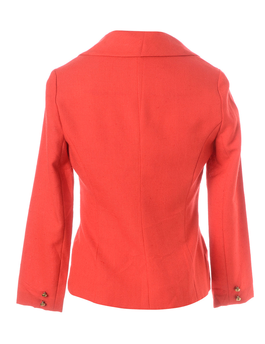 Beyond Retro Label 1960s Red Jacket
