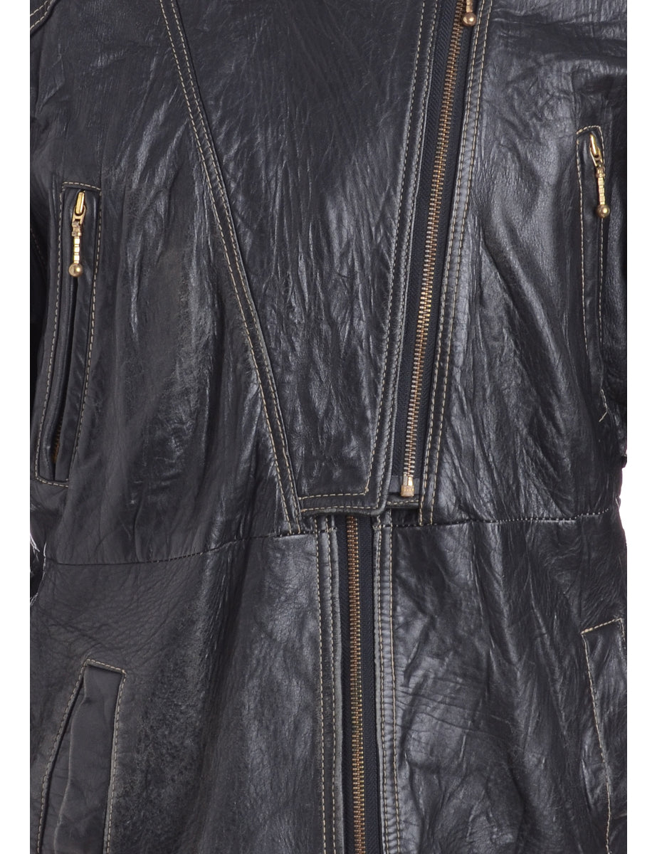Beyond Retro Label 1970s Leather Jacket