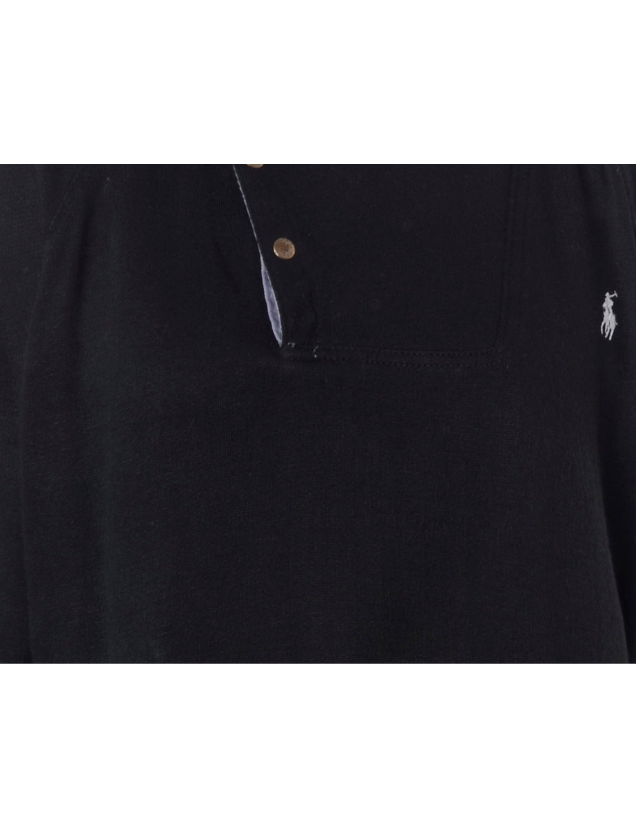 Beyond Retro Label 1970s Plain Sweatshirt