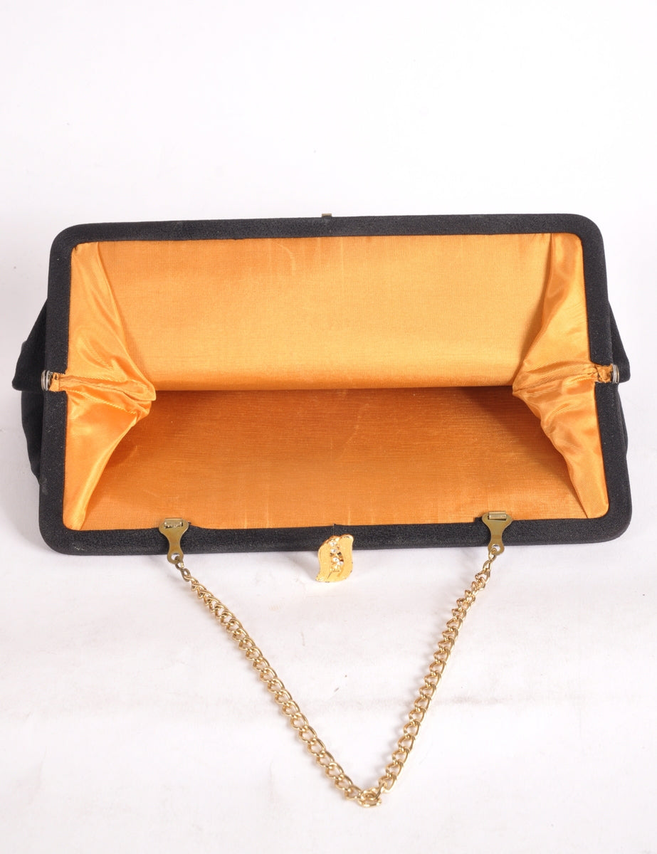 Beyond Retro Label Art-deco style vintage Clutch