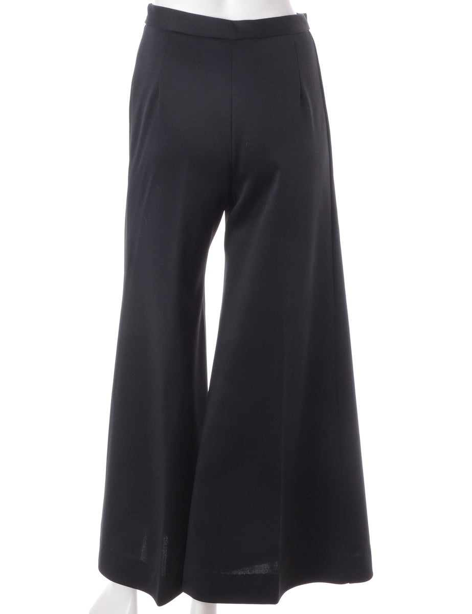 Beyond Retro Label Bell Bottom Flared Trousers