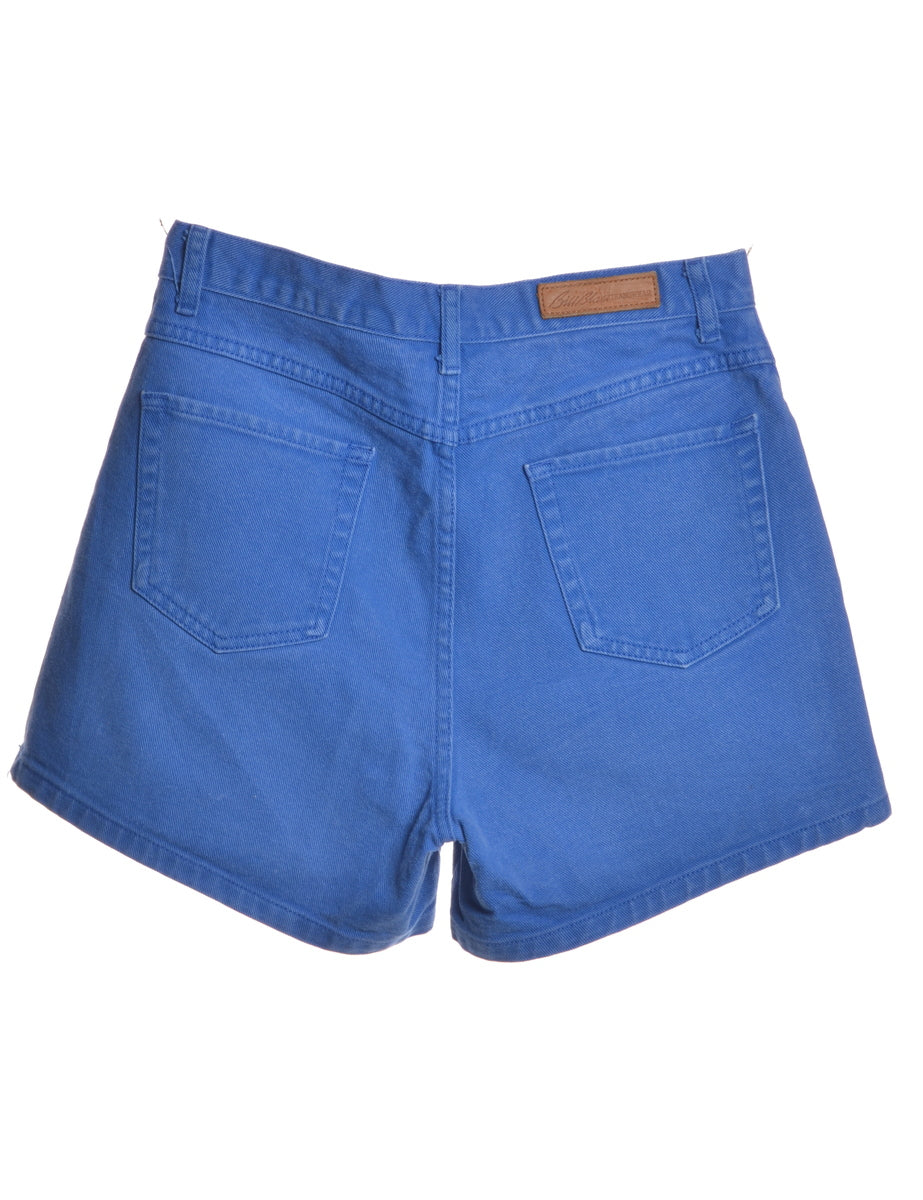 Beyond Retro Label Bill Blass Blue Denim Shorts