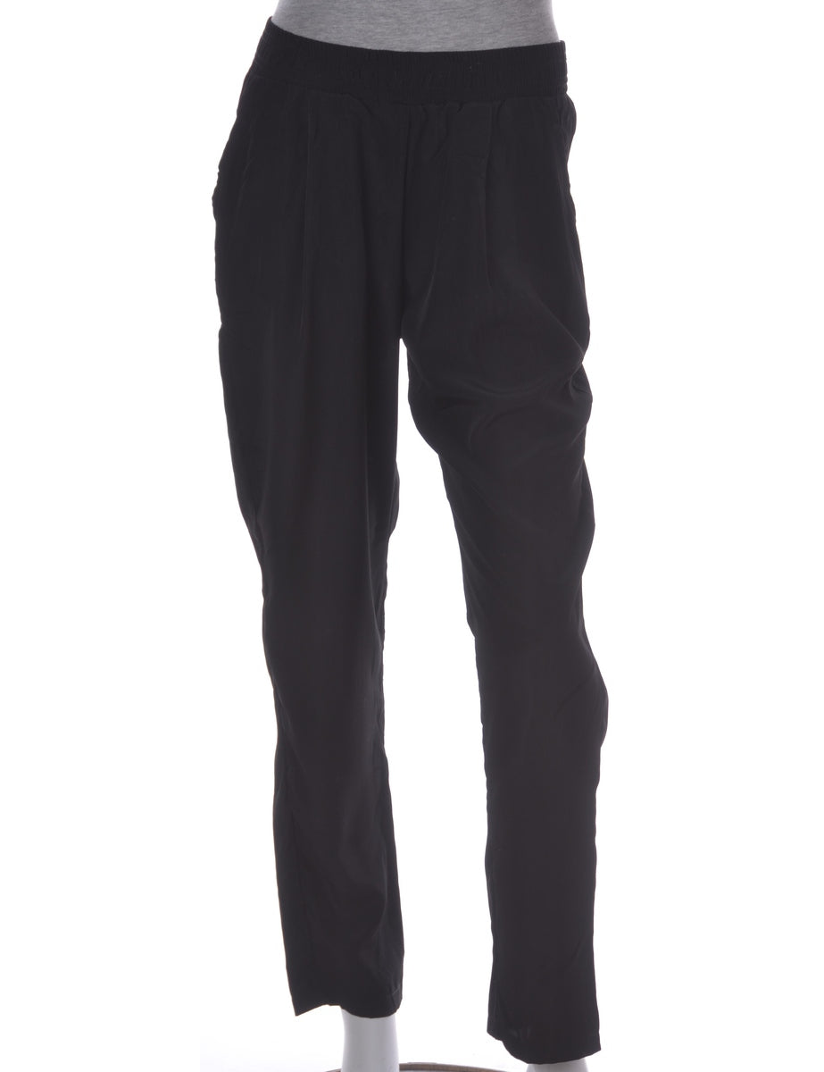 Beyond Retro Label Black Summer Trousers