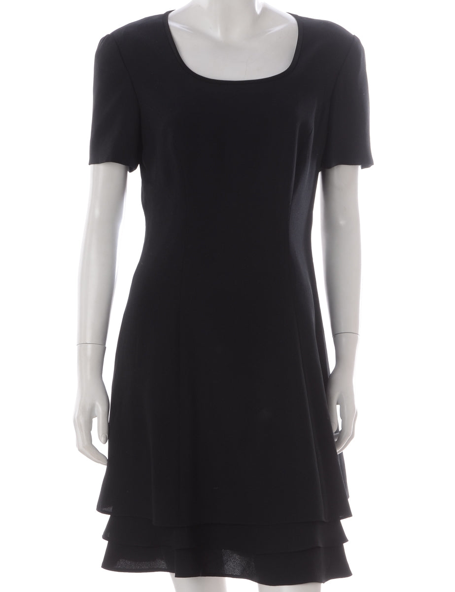 Beyond Retro Label Black Tea Dress