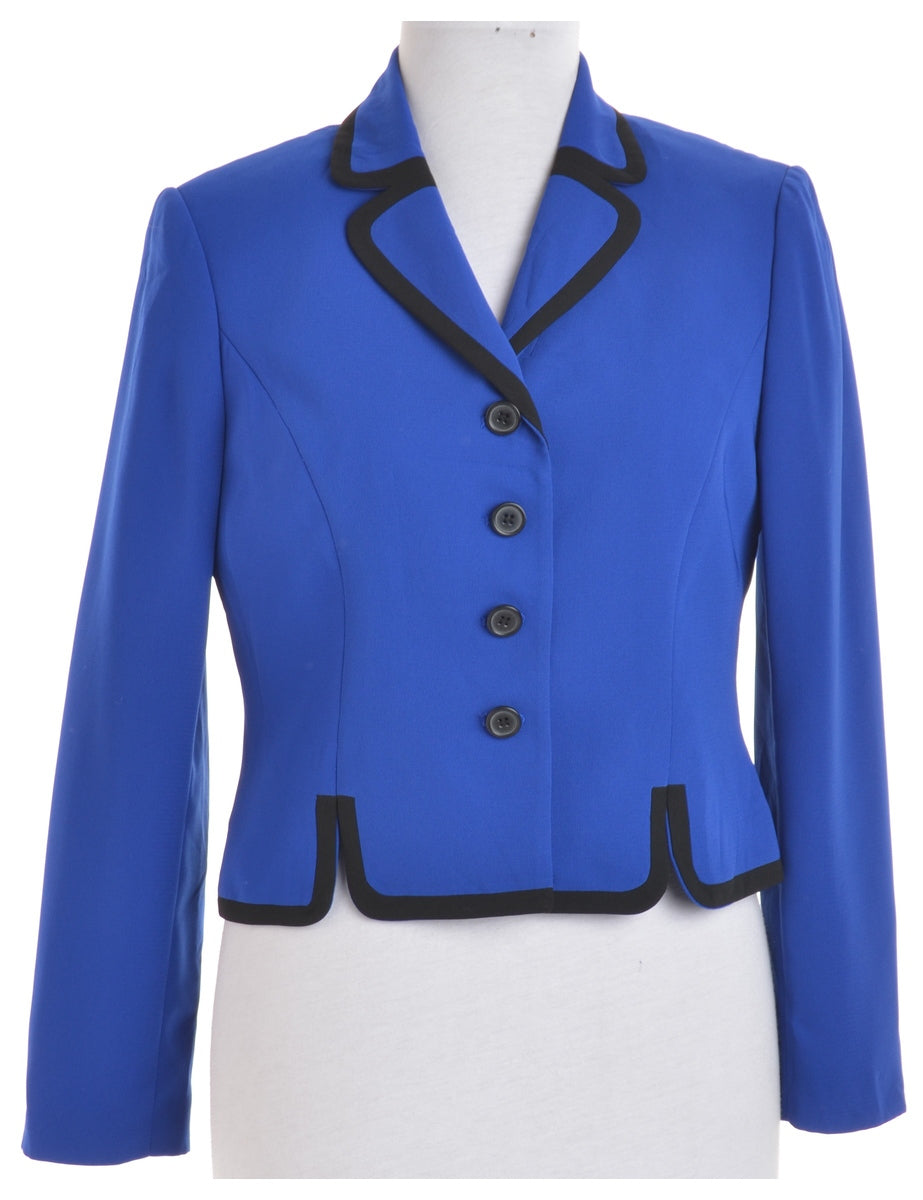 Beyond Retro Label Blue Blazer