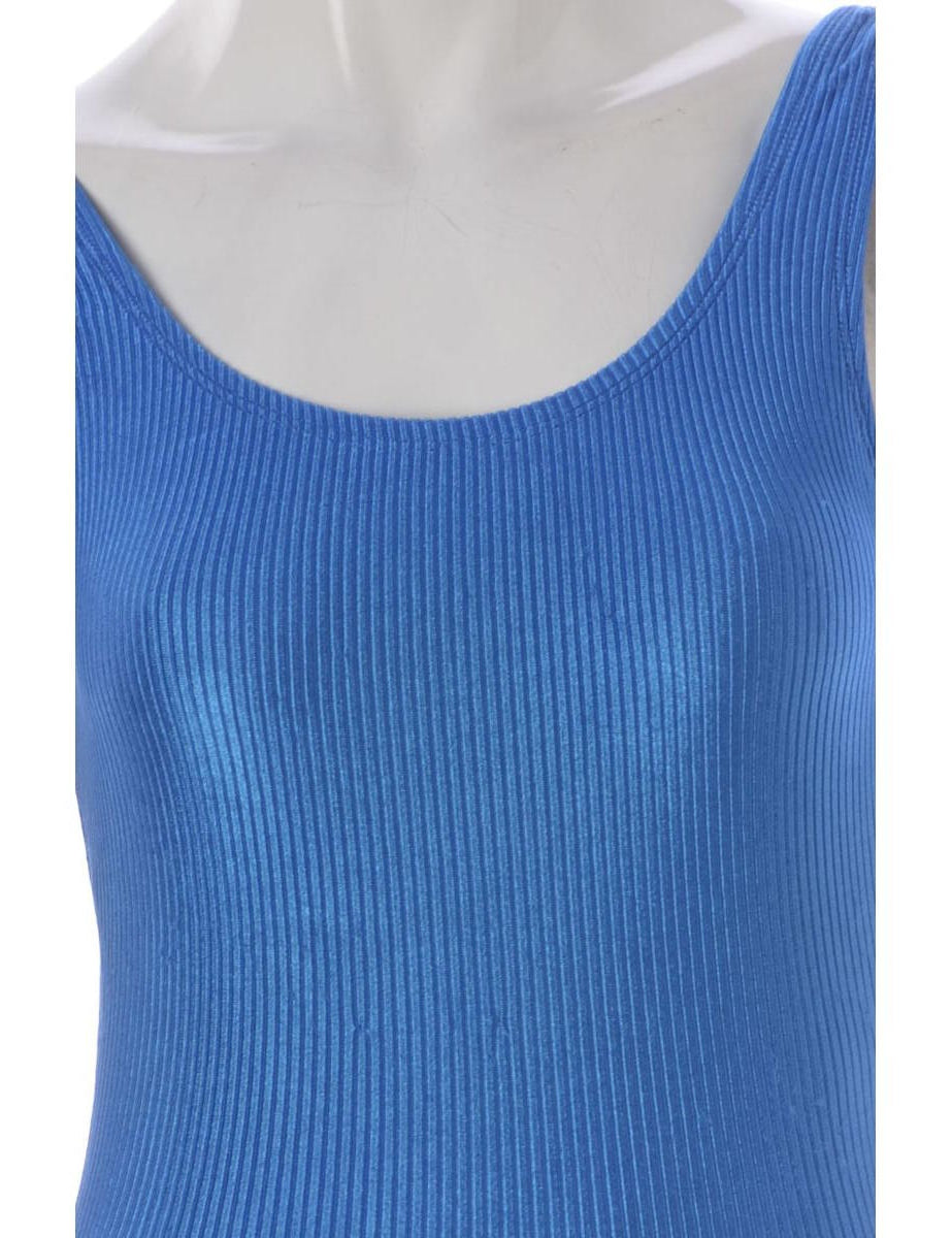 Beyond Retro Label Blue One-piece Swimsuit