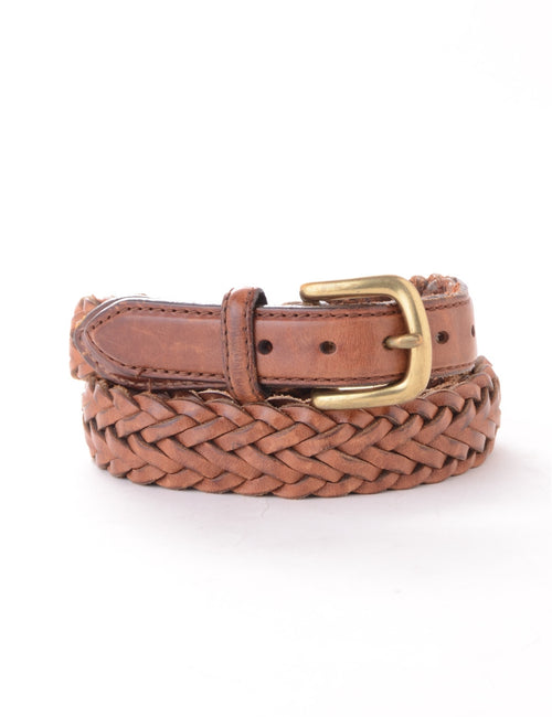 Brown Woven Belt