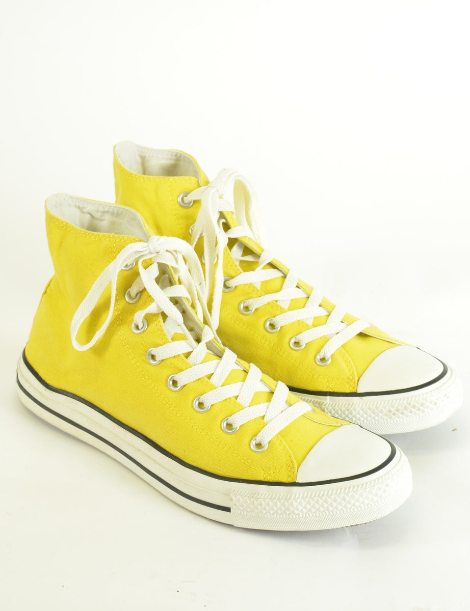 52f63136884559 Women s Converse Converse All Star Shoes Yellow