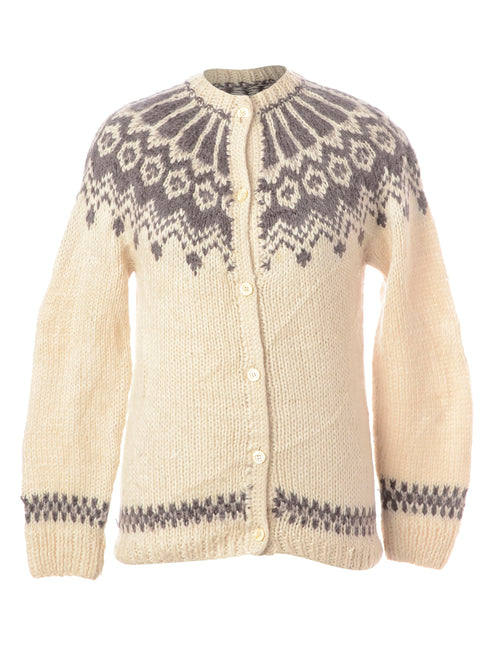 Cream Christmas Cardigan