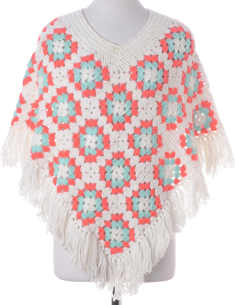 Beyond Retro Label Crochet Poncho