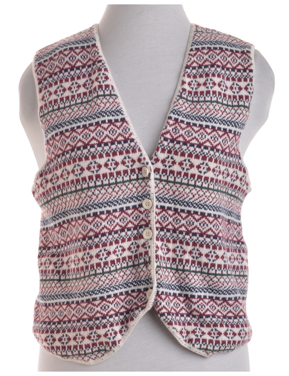 Beyond Retro Label Eye Catching Vest