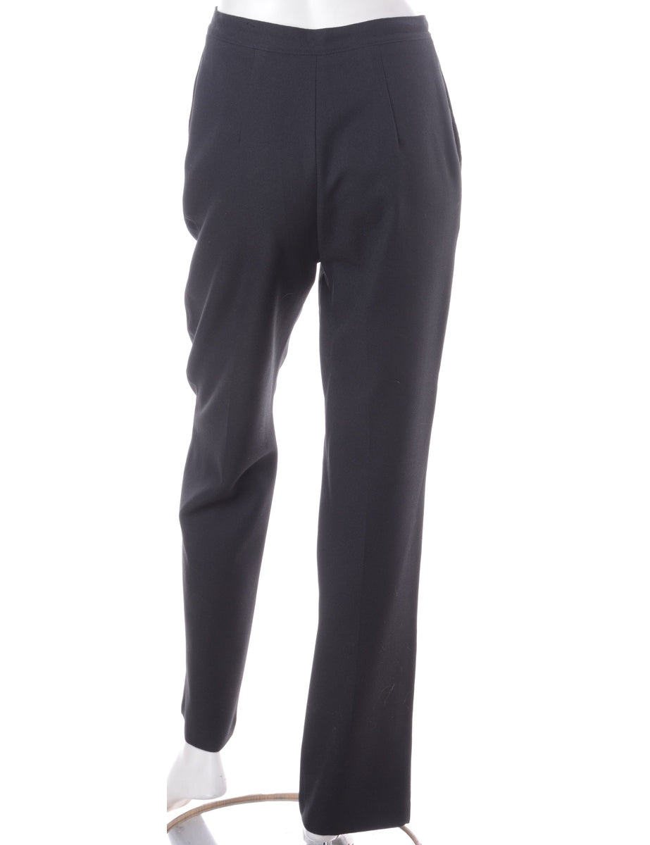 Beyond Retro Label Fitted Smart Trousers