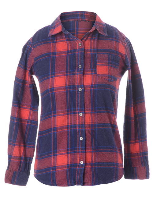 Flannel Checks Fitted Shirt