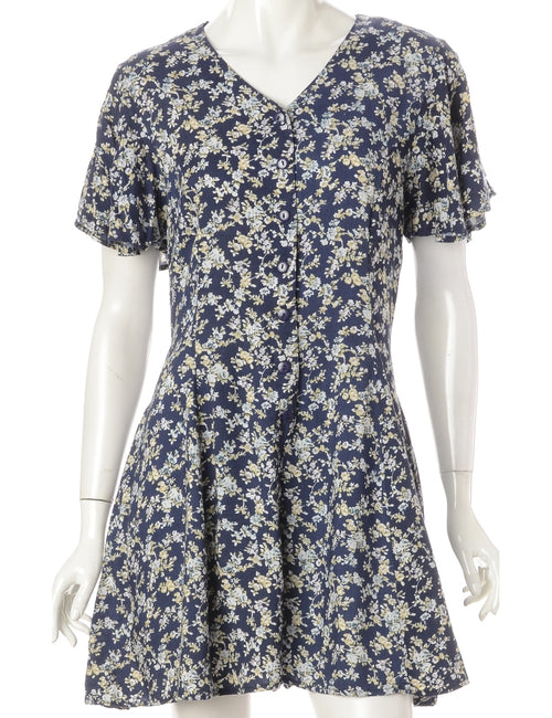 Floral Pattern Playsuit