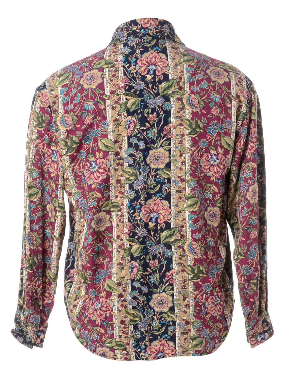 Beyond Retro Label Floral Shirt