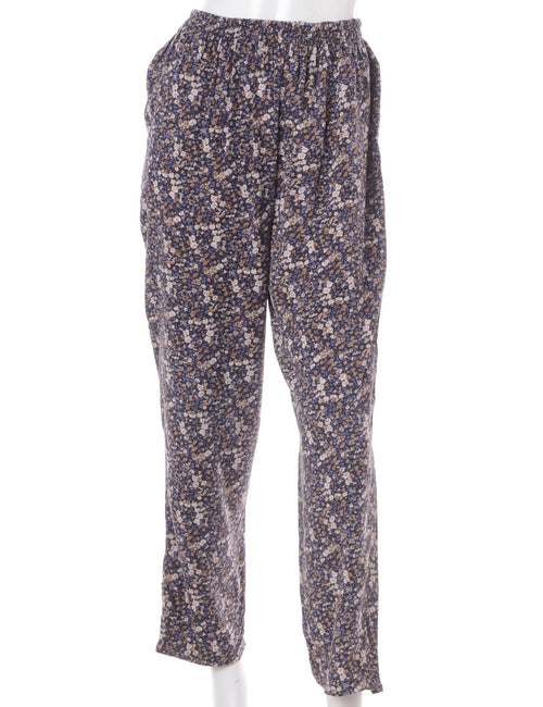 Floral Summer Trousers