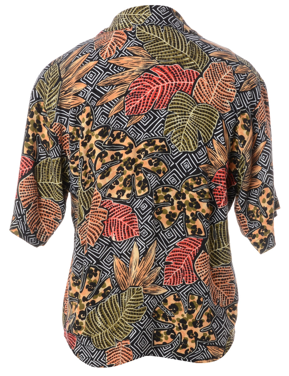 Beyond Retro Label Foliage Shirt