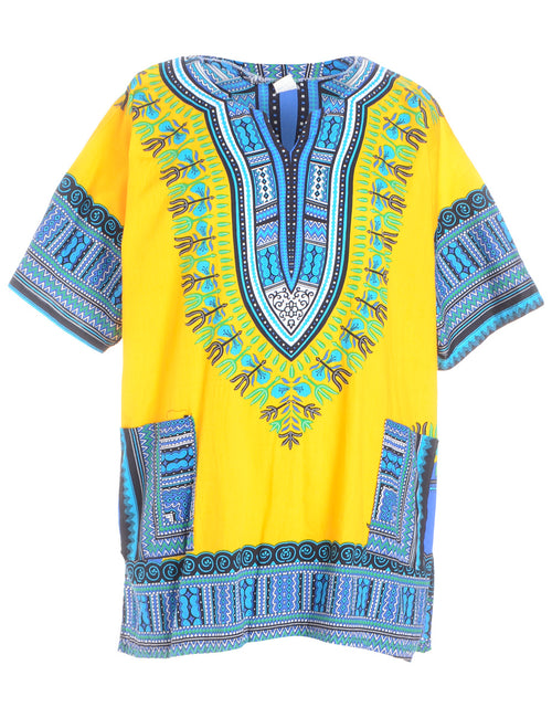 Folky Printed Top