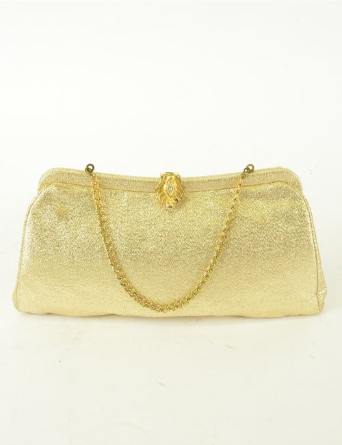 Glittery  Vintage Clutch