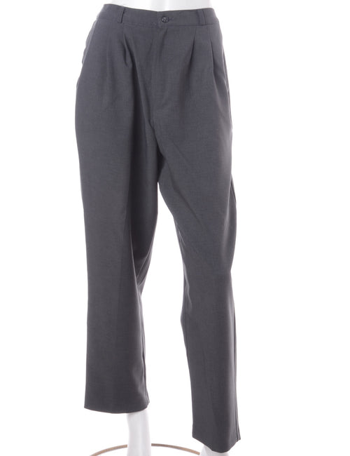 Grey Smart Trousers