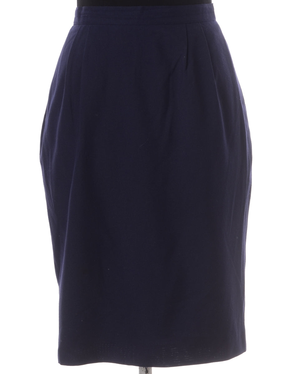 Beyond Retro Label Knee Length Midi Skirt