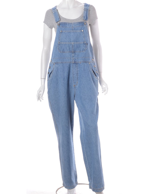 Light Wash Dungarees