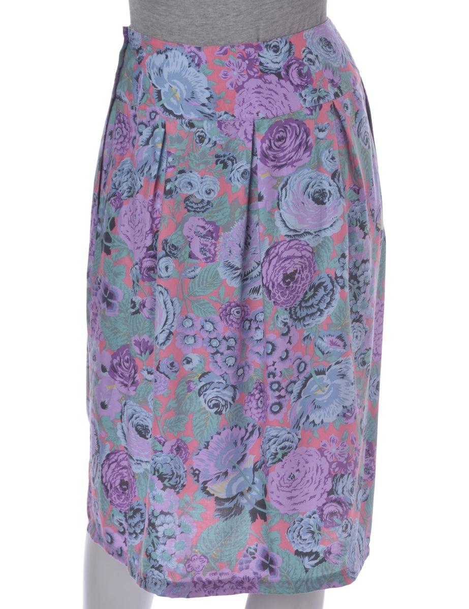 Beyond Retro Label Lilac Midi Skirt