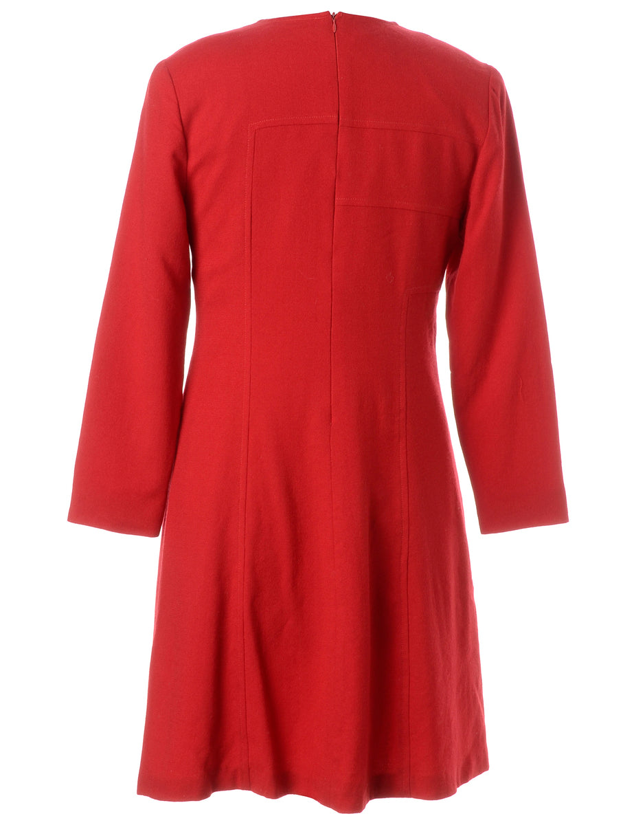 Beyond Retro Label Long Sleeved Dress