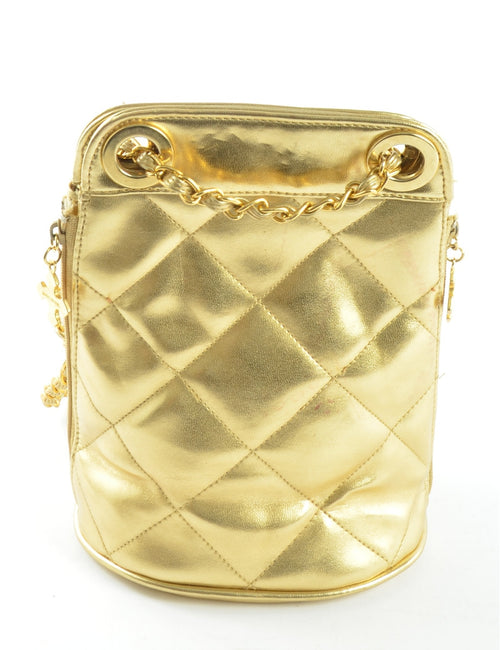 Metallic Vintage Shoulder Bag
