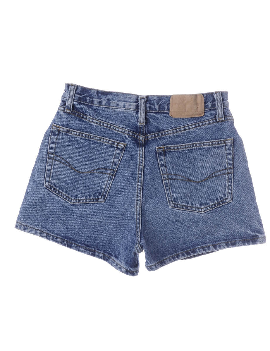 Beyond Retro Label Mini Denim Shorts