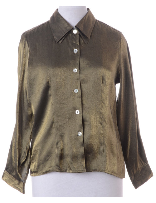 Olive Green Evening Shirt